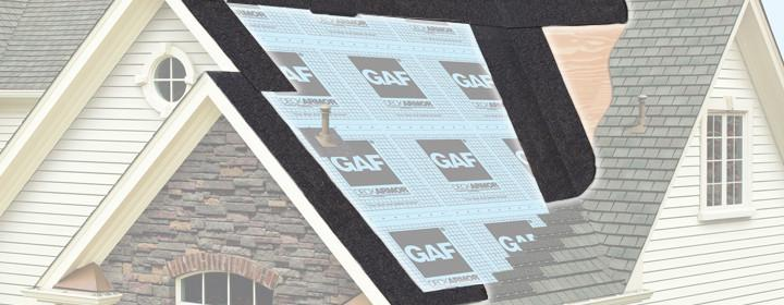 GAF roof deck leak barrier