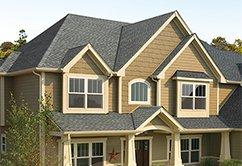 Energy efficient roof shingles