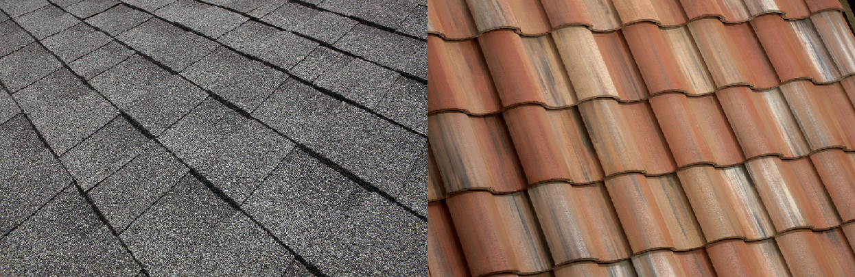 roof tiles vs roof shingles