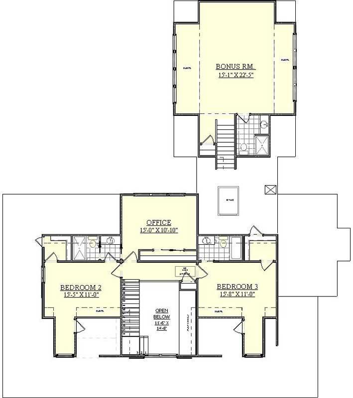 house plan hamptons style