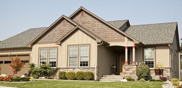 Gabled roof design