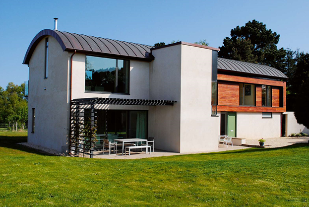 curved roof design