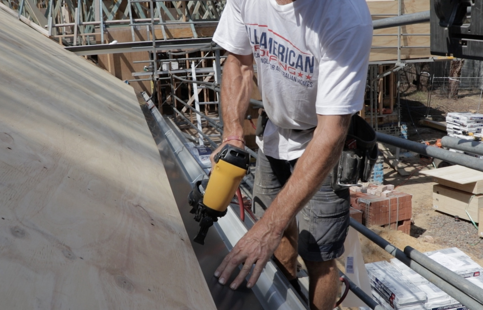 Nailing Drip Edge For Roof Shingles