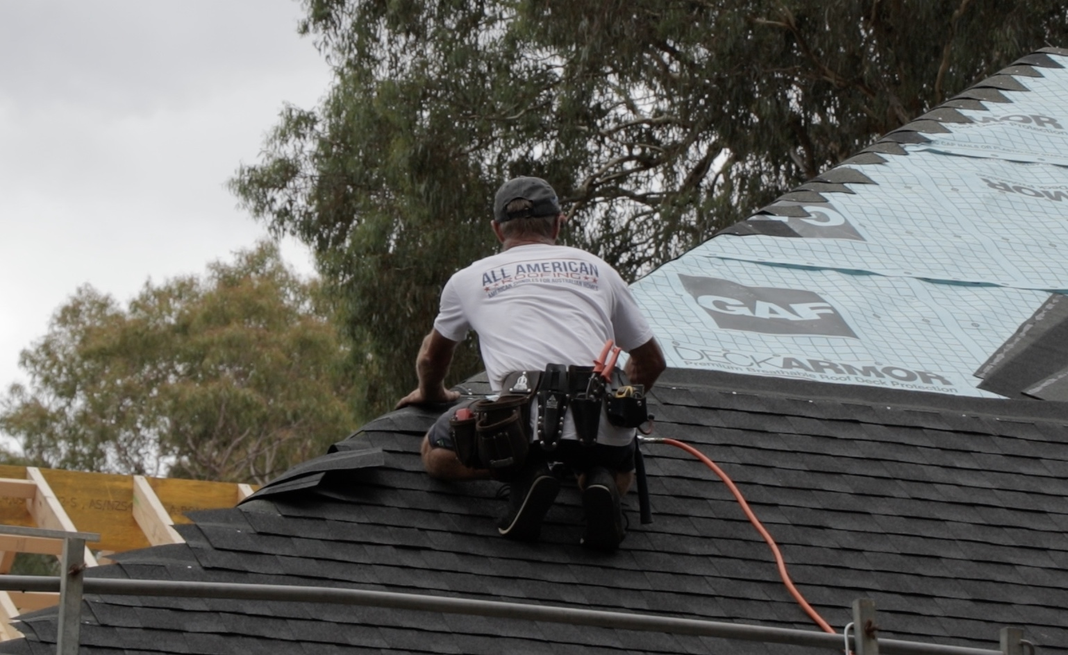 Timberline HD Asphalt Roof Shingle Installation