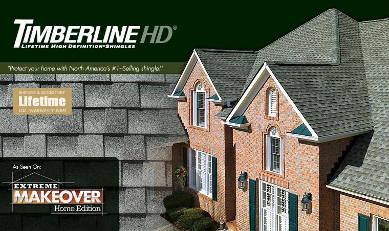 GAF Roof Shingles Timberline HD