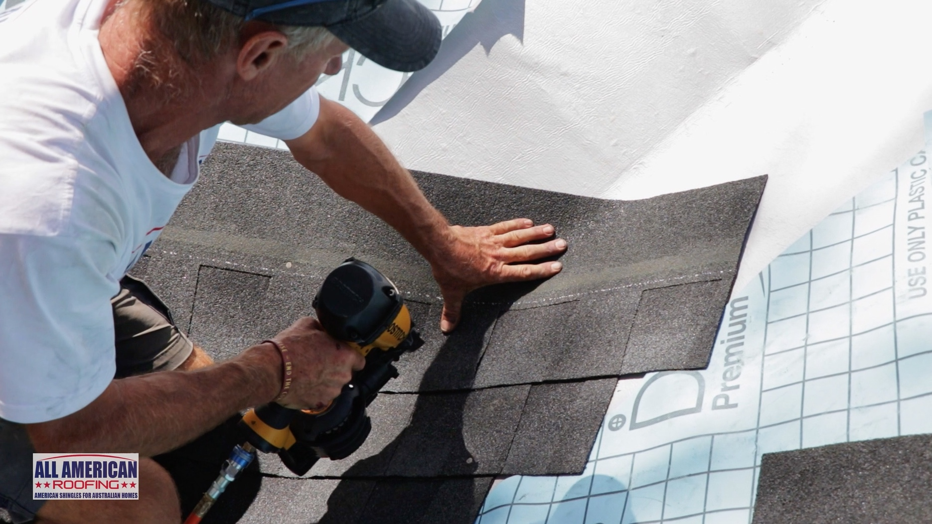 roof shingles in valley pressing down