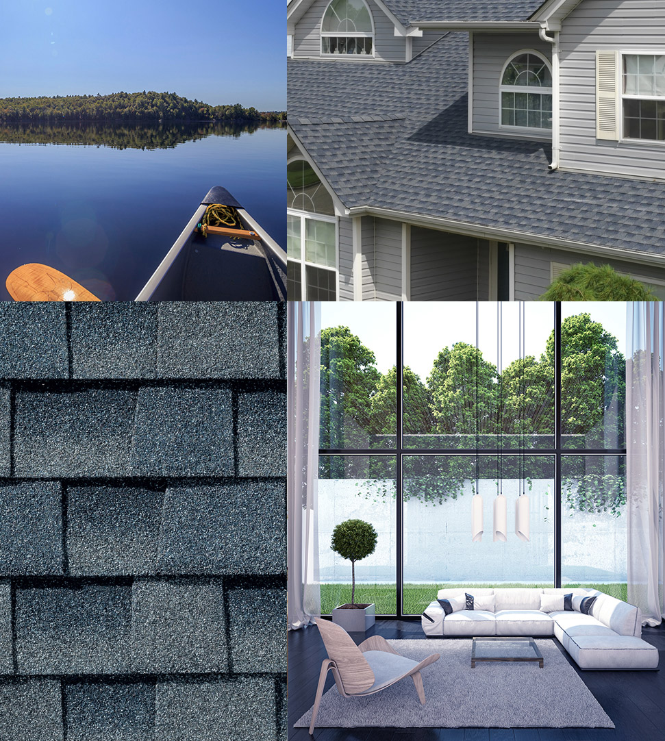 Timberline HD asphalt roof shingles