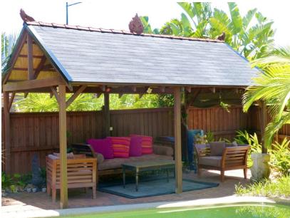 pool cabana roof