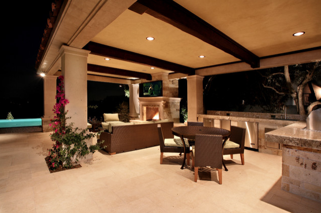 exclusive pool cabana