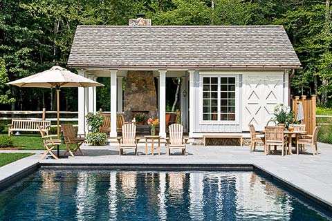 pool pavilion house